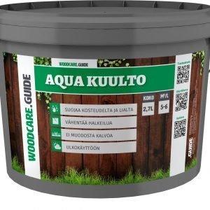 Woodcare.Guide Aqua 3 L Kuulto Ruskea