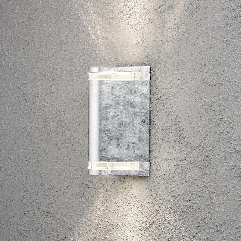 Ylös-/alaspäin Modena-seinävalaisin Konstsmide Metallinen