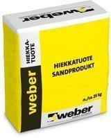 weber Leikkihiekka 0-2 mm 25 kg