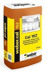 weber.cal 152 Hydraulinen kalkkilaasti hieno 25 kg