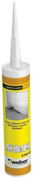 weber.color silikon 1 White 310 ml