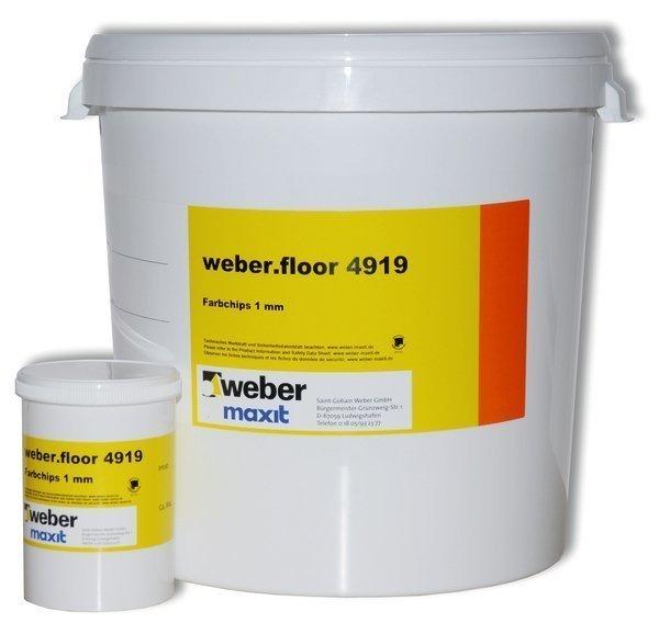 weber.floor 4919 Mosaiikkihiutale Harmaa 1 kg