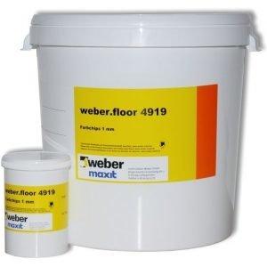 weber.floor 4919 Mosaiikkihiutale Musta 1 kg