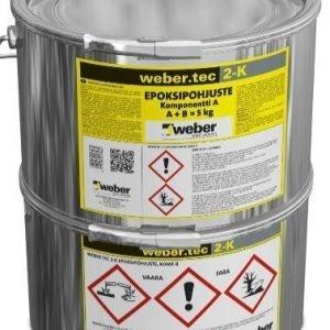 weber.tec 2-K Epoksipohjuste 5 kg