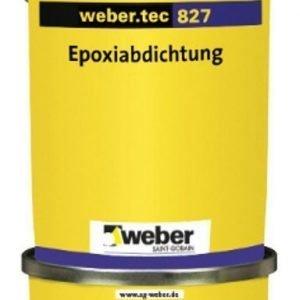 weber.tec 827 S Epoksivedeneriste 8 kg