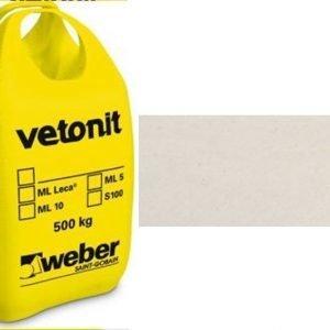 weber.vetonit 4650 Design Plaano G05 Valkoinen 1000 kg