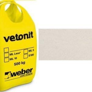 weber.vetonit 4650 Design Plaano G10 Luonnonvalkoinen 1000 kg