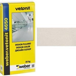 weber.vetonit 4650 Design Plaano G10 Luonnonvalkoinen 20 kg