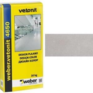 weber.vetonit 4650 Design Plaano G20 Vaaleanharmaa 20 kg