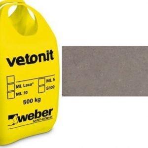 weber.vetonit 4650 Design Plaano G40 Harmaa 1000 kg