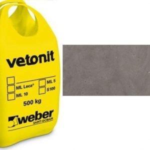 weber.vetonit 4650 Design Plaano G60 Tummanharmaa 1000 kg