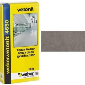 weber.vetonit 4650 Design Plaano G60 Tummanharmaa 20 kg