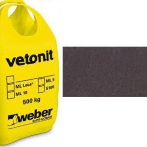 weber.vetonit 4650 Design Plaano G80 Grafiitin musta 1000 kg