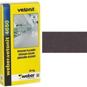 weber.vetonit 4650 Design Plaano G80 Grafiitin musta 20 kg