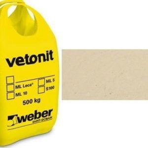 weber.vetonit 4650 Design PlaanoF10 Keltainen 1000 kg