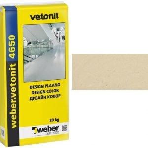 weber.vetonit 4650 Design PlaanoF10 Keltainen 20 kg