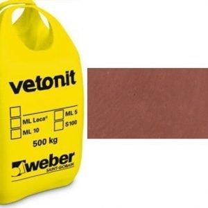 weber.vetonit 4650 Design PlaanoF40 Terracotta 1000 kg