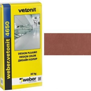 weber.vetonit 4650 Design PlaanoF40 Terracotta 20 kg