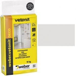 weber.vetonit DECO Laattasauma 11 Light grey 15 kg