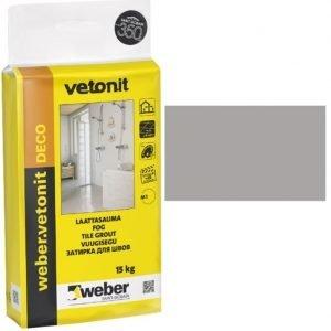 weber.vetonit DECO Laattasauma 13 Medium grey 15 kg