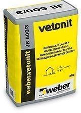 weber.vetonit JB 600/3 Juotoslaasti 25 kg