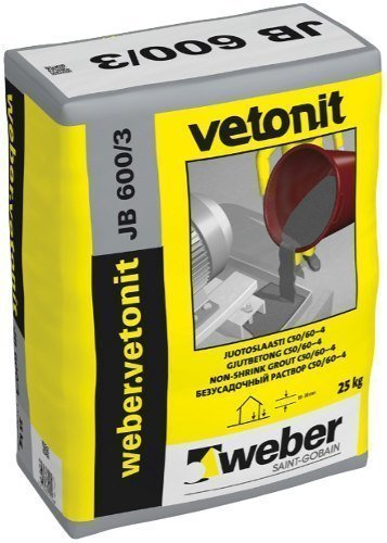 weber.vetonit JB 600/3 Juotoslaasti 5 kg