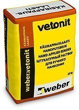 weber.vetonit KRL 1.5 Käsirappauslaasti pinta 25 kg