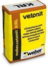 weber.vetonit KRL 4.0 Käsirappauslaasti täyttö 25 kg