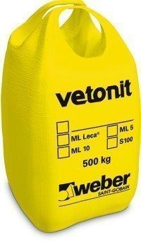 weber.vetonit ML 5 Muurauslaasti M100/600 500 kg